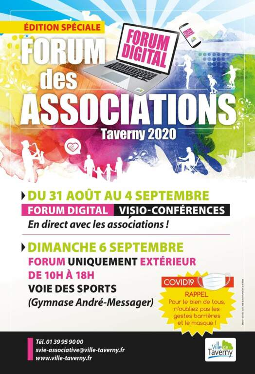 FORUM DIGITAL DES ASSOCIATIONS DE TAVERNY